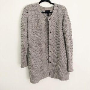 Cynthia Rowley oversized long knit cardigan XL